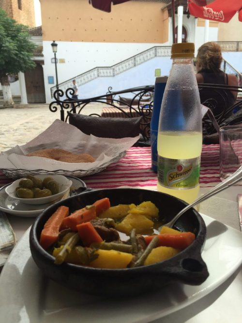 tagine in chefchaouen morocco
