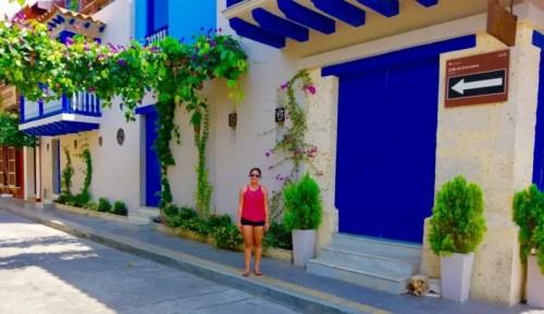 Buildings in Cartagena