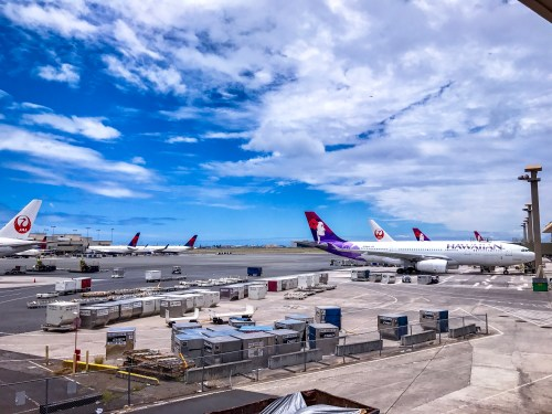 daniel inouye international airport hawaiian airlines