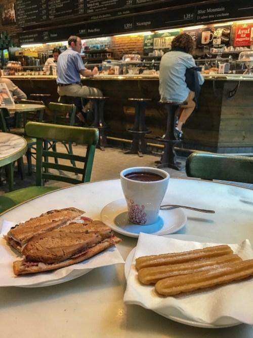 Breakfast in Café Il di Francisco