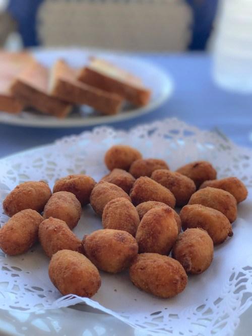 croquetas in restaurante salamance