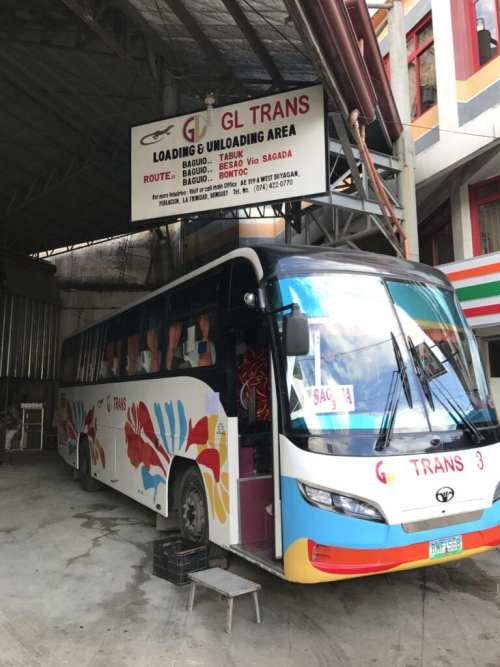 bus ride from baguio to sagada
