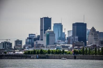 skyline Montréal
