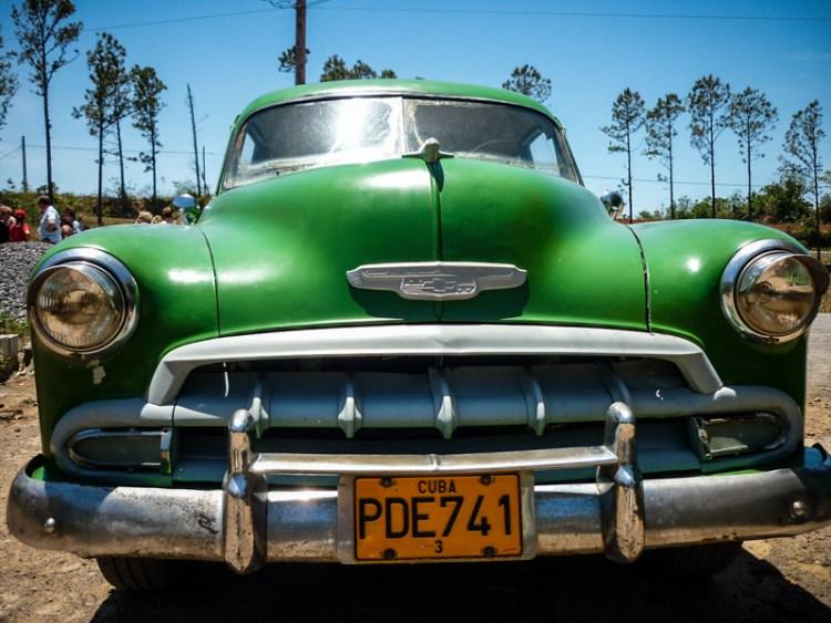 Cuba voiture