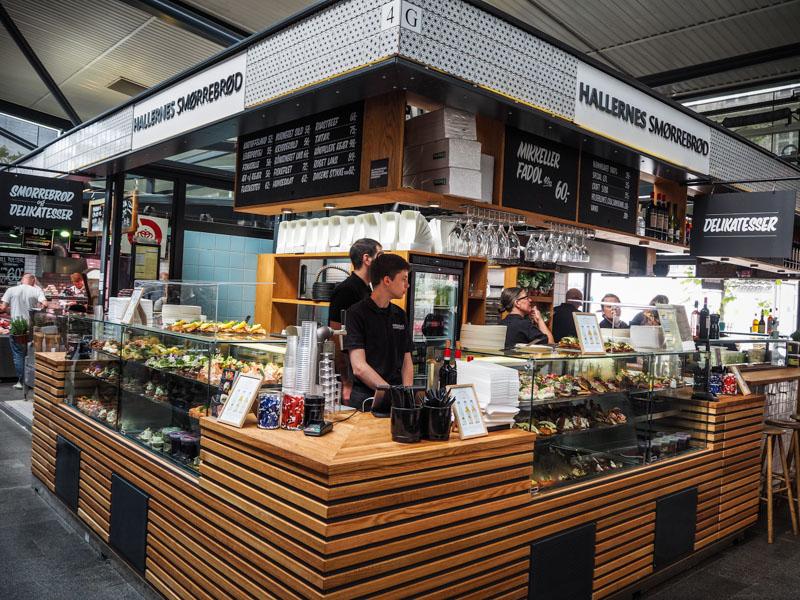 Copenhague marché de Torvehallerne trotteurs addict blog voyage