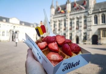 Bruges belgique adresse gourmande Chez Albert gaufre