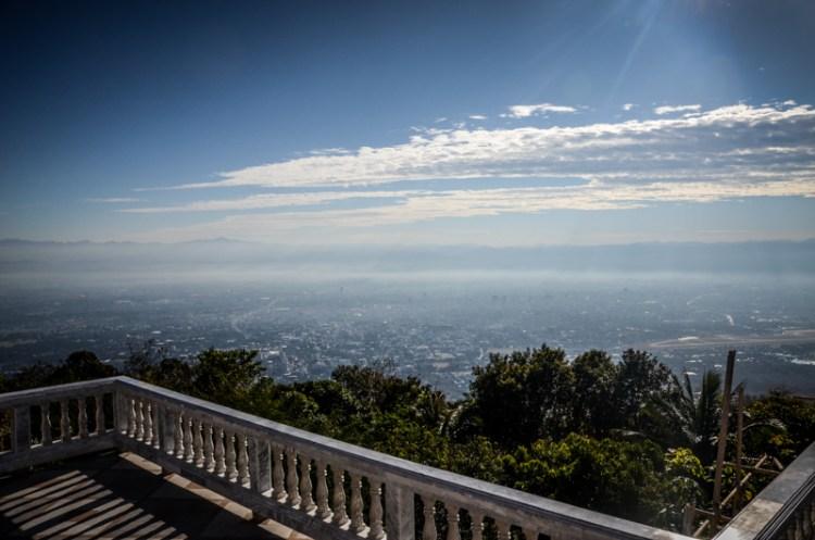 vue sur chiang mai thailande