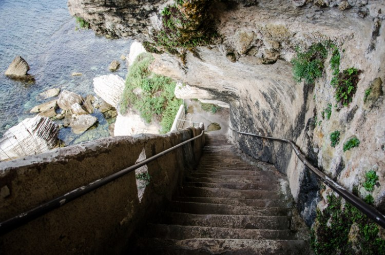escalier roy d'aragon bonifacio