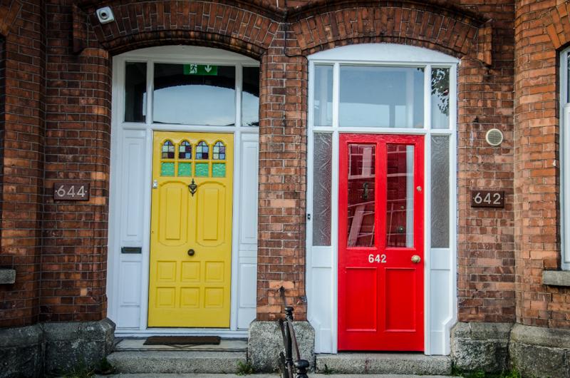 dublin portes colorées
