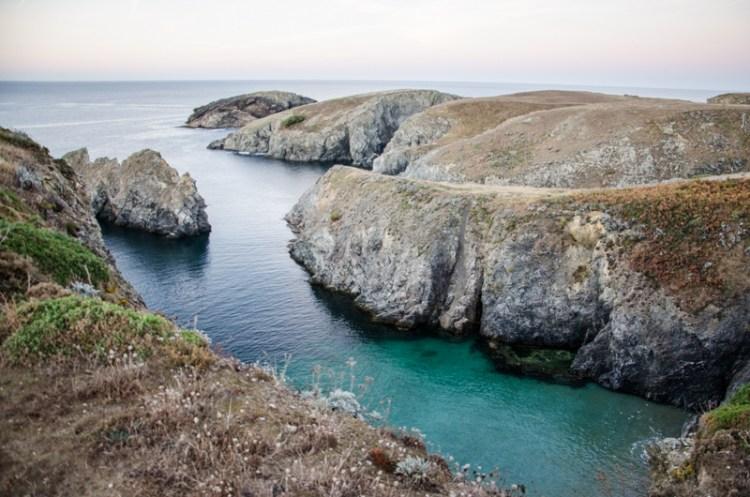 paysages belle île bretagne