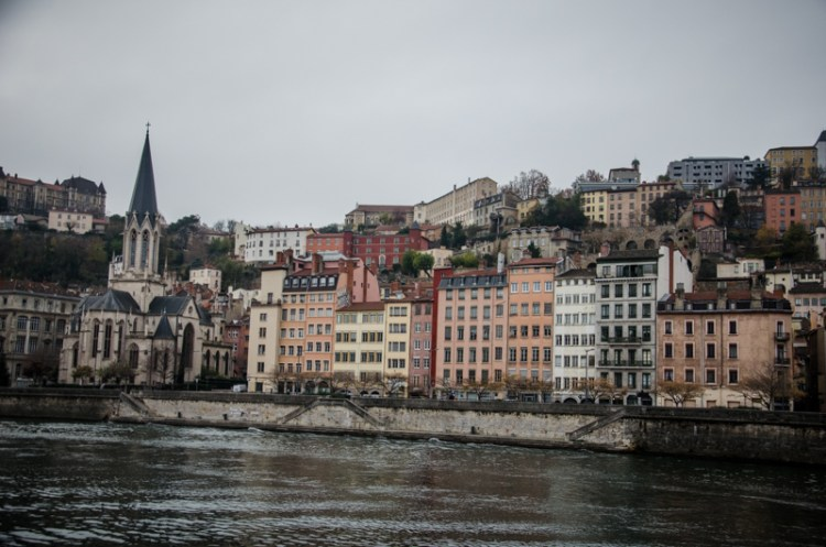 Lyon berges saone