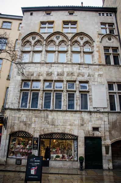 vieux lyon façade