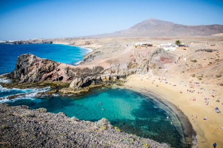 Papagayo beach Lanzarote
