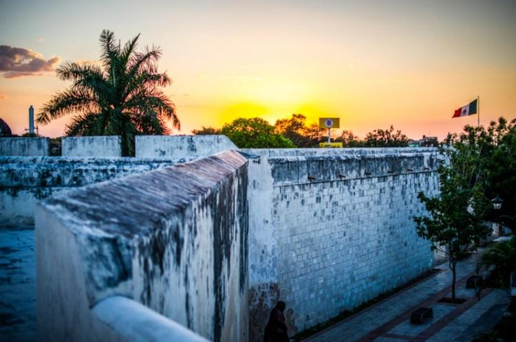 remparts campeche mexique