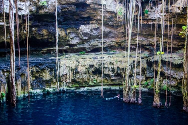 cenote oxman yucatan