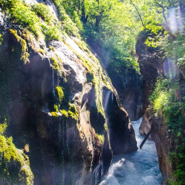 gorges de Wimbachklamm baviere