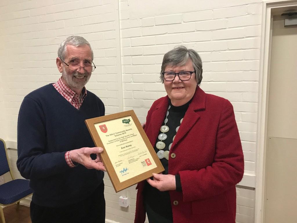 KALC community award Ann Kemp