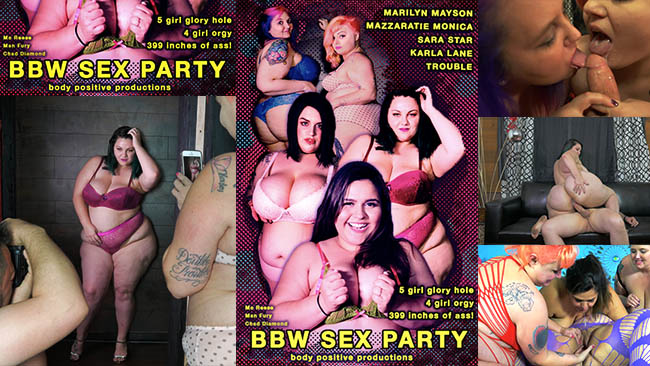 BBW Sex Party Released Across Digital Platforms