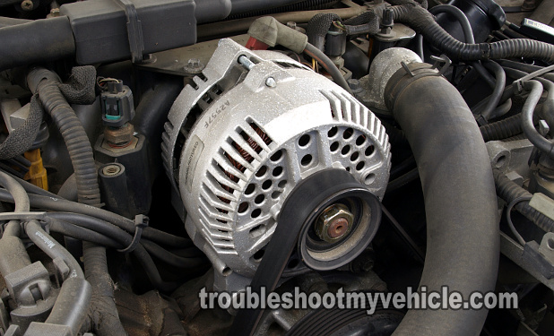Part 1 How To Test The Alternator Ford 4 6l 5 4l