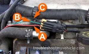 Part 2 How to Test the Cam Sensor (P0341) (GM 31L, 34L)