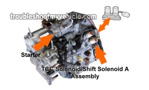 Part 1 How to Test: TCC Solenoid and Shift Solenoid A