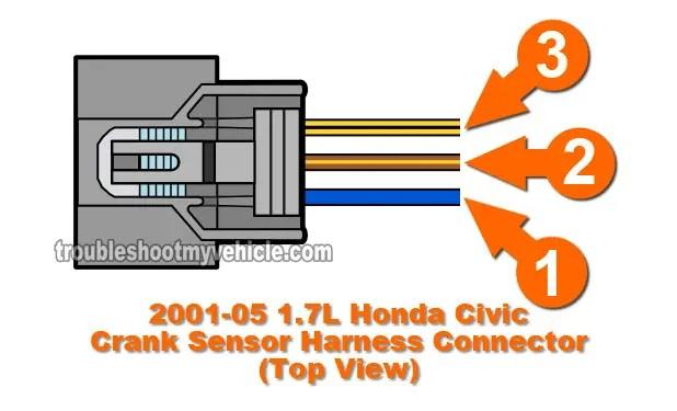 part 2 how to test the crank sensor 20012005 17l honda