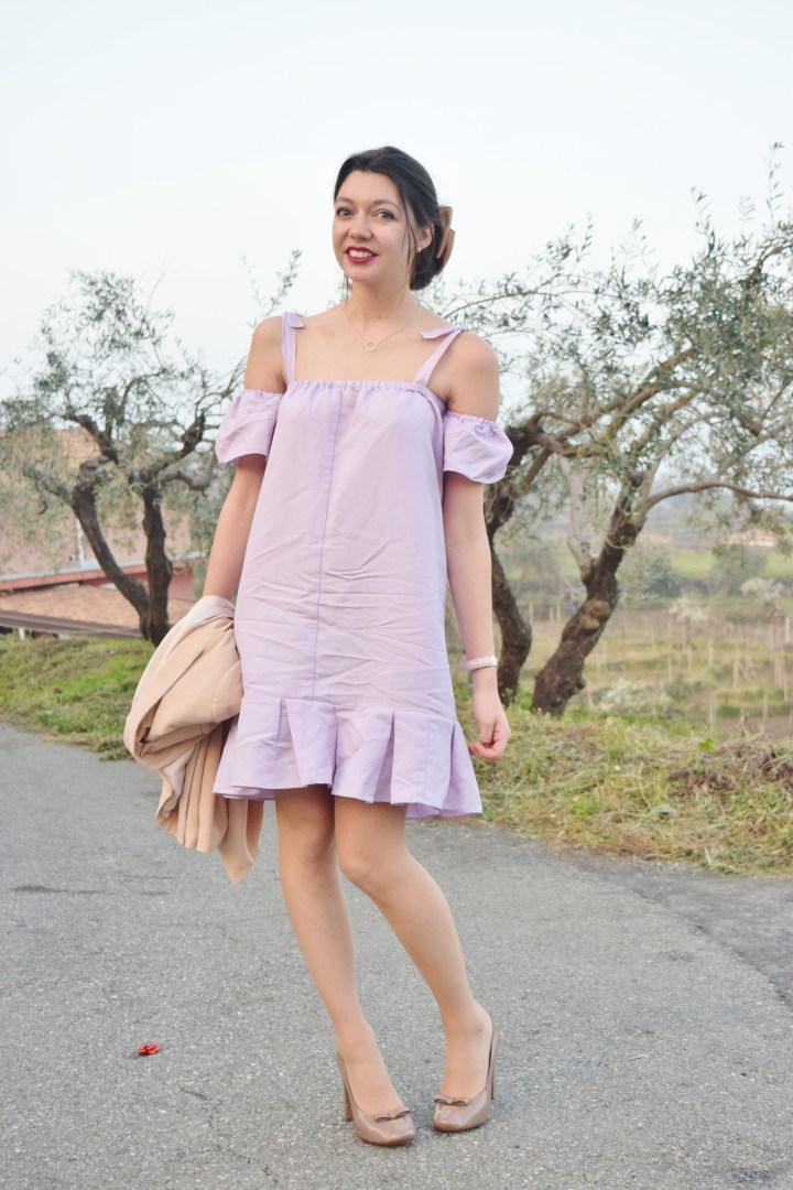 DIY Wedding guest dress.