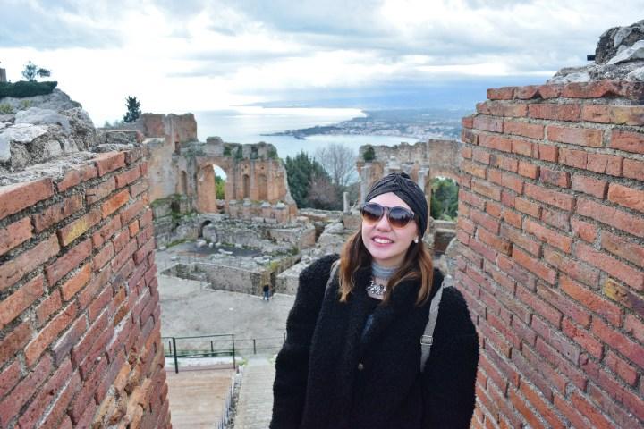 February Family Trip Day 3 – Castelmola-Taormina-Alcantara gorges