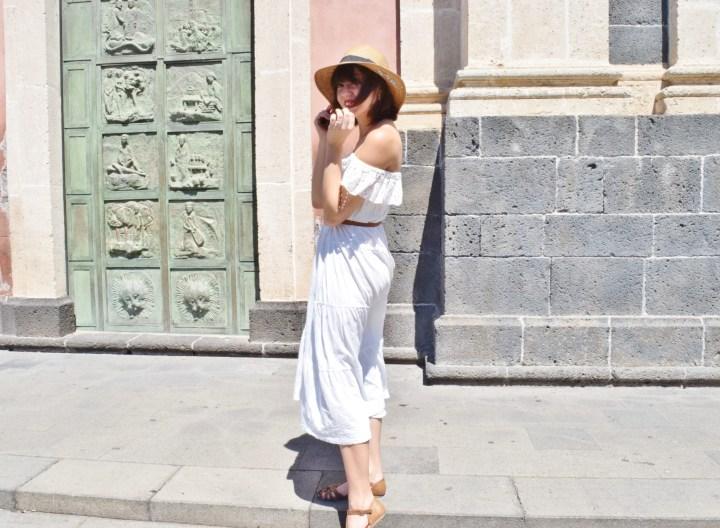 White dress 015
