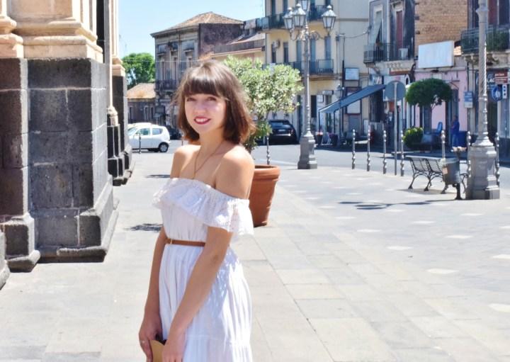 White dress 032