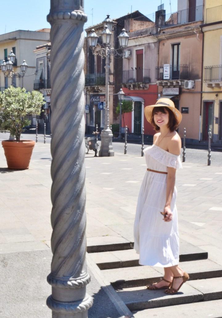 White dress 030