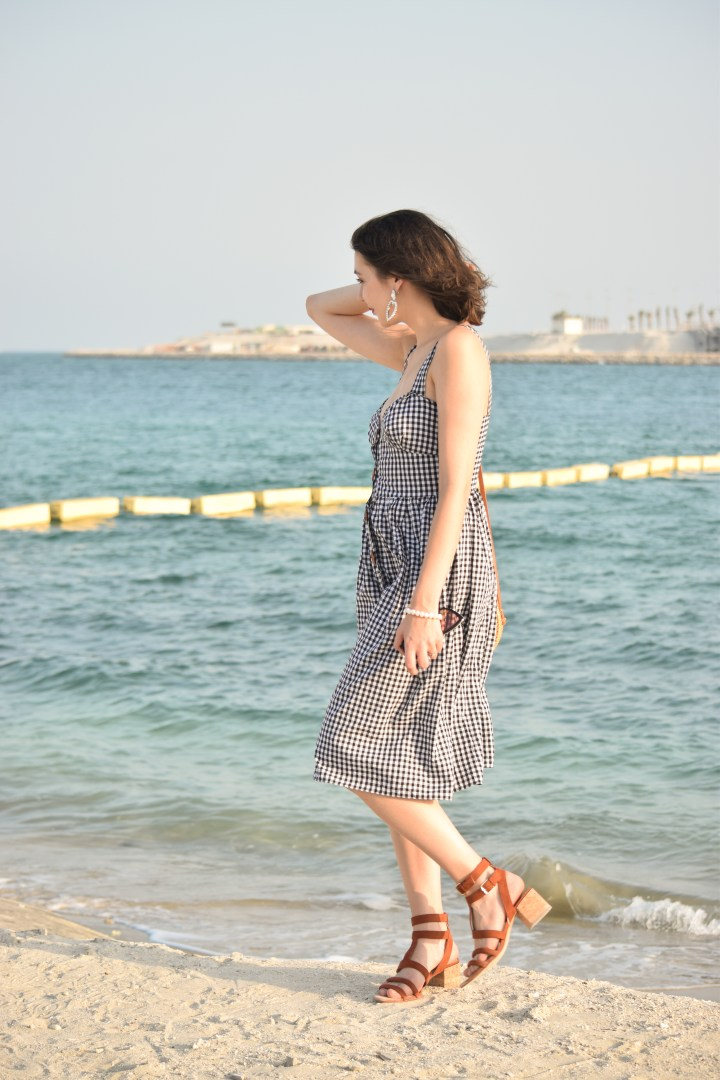 DIY gingham dress_0020