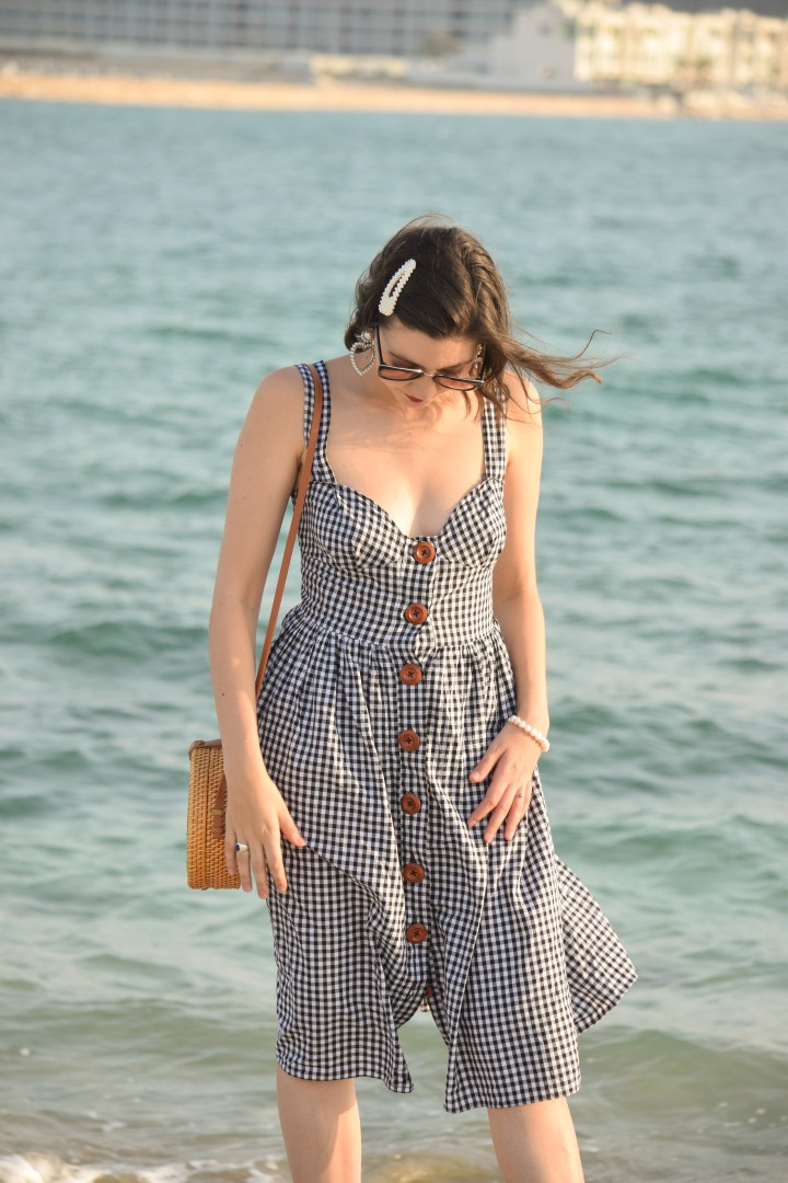 DIY gingham dress_0031