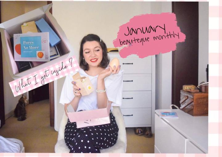 January beauteque monthly