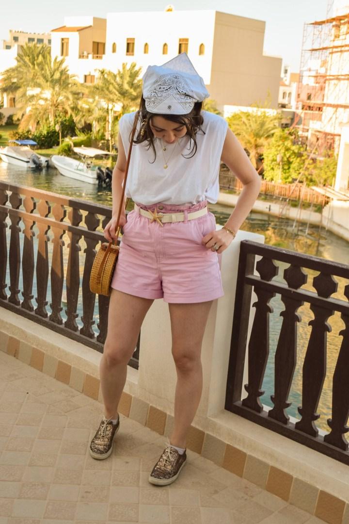 Bandana-pink-short1