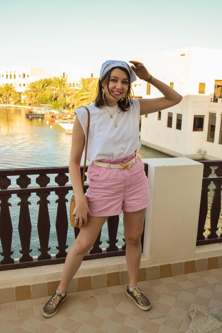 Bandana-pink-short9