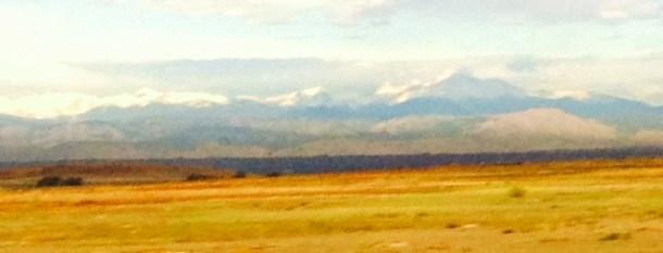 West from Denver