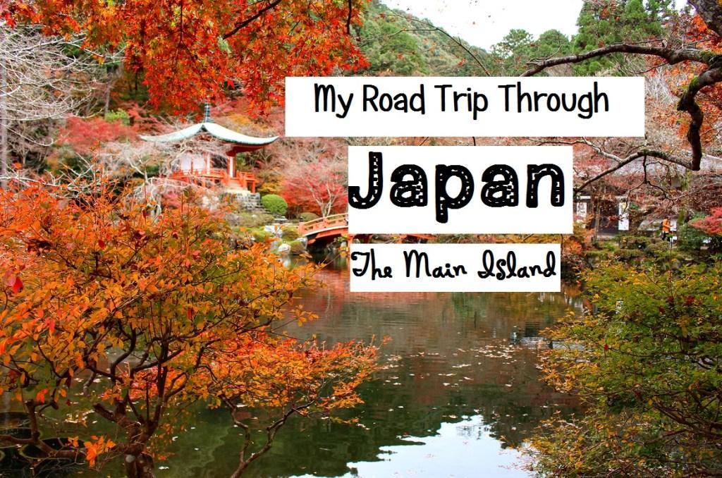 My Road Trip Through Japan