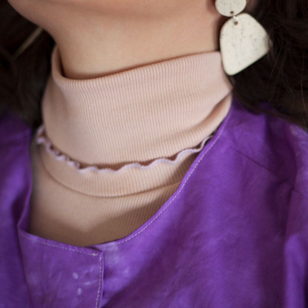 Piper High Neck in Pink