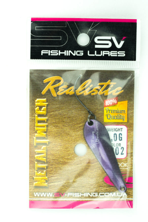 SV Lures Metal Twitch 4g CH02