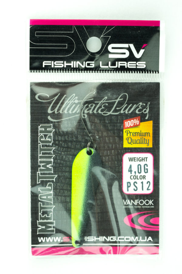 SV Lures Metal Twitch 4g PS12