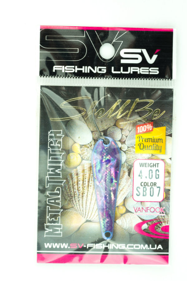 SV Lures Metal Twitch 4g SB07