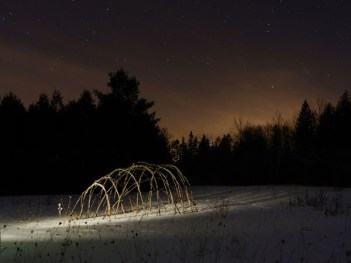 The Bender Frame Project - Photo by John Marris