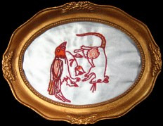 Embroidery by Jemma Woolidge