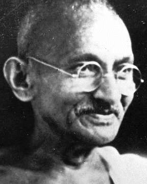 """Whenever you are confronted with an opponent. Conquer him with love"" -Mahatma Gandhi"