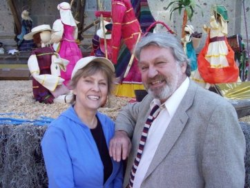 Joe and his wife Barbara circa 2009