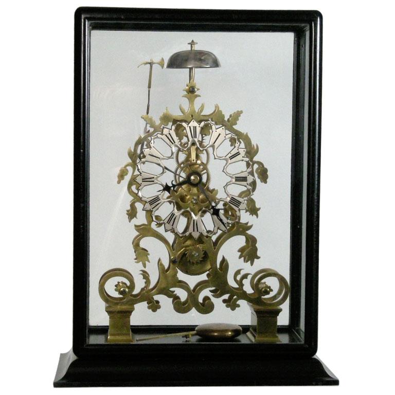 England c. 1860 Skeleton clock 1stdibs