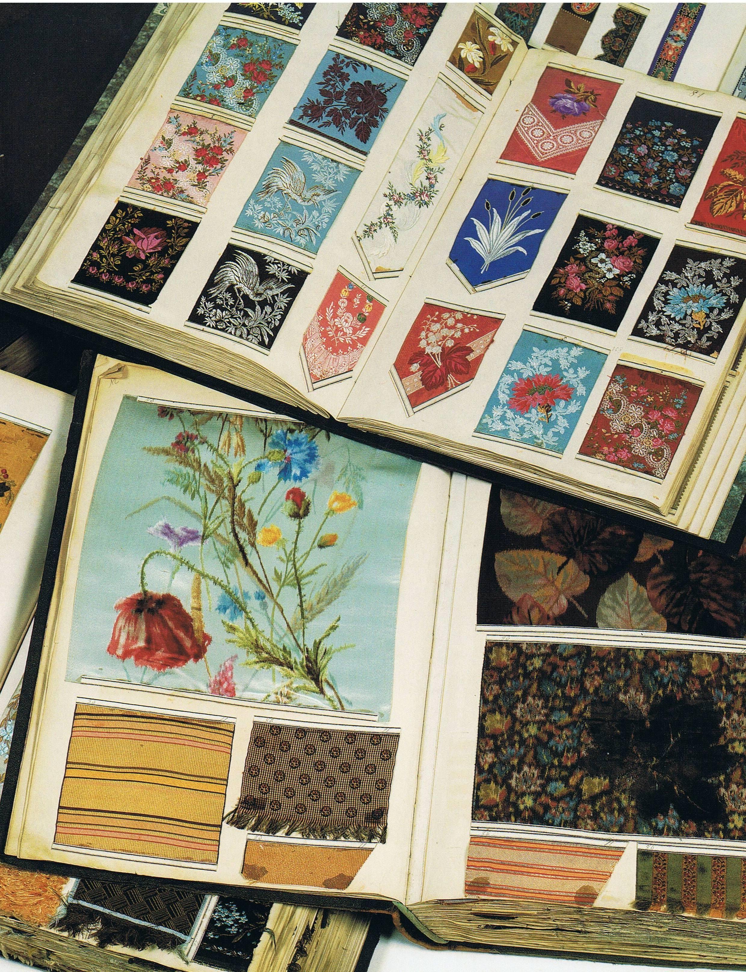 Sample Books Silk