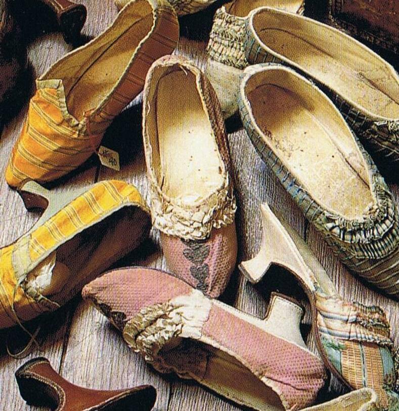 Shoes 18th c
