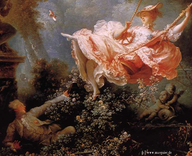 The Swing by Fragonard, 1766 marquise.de